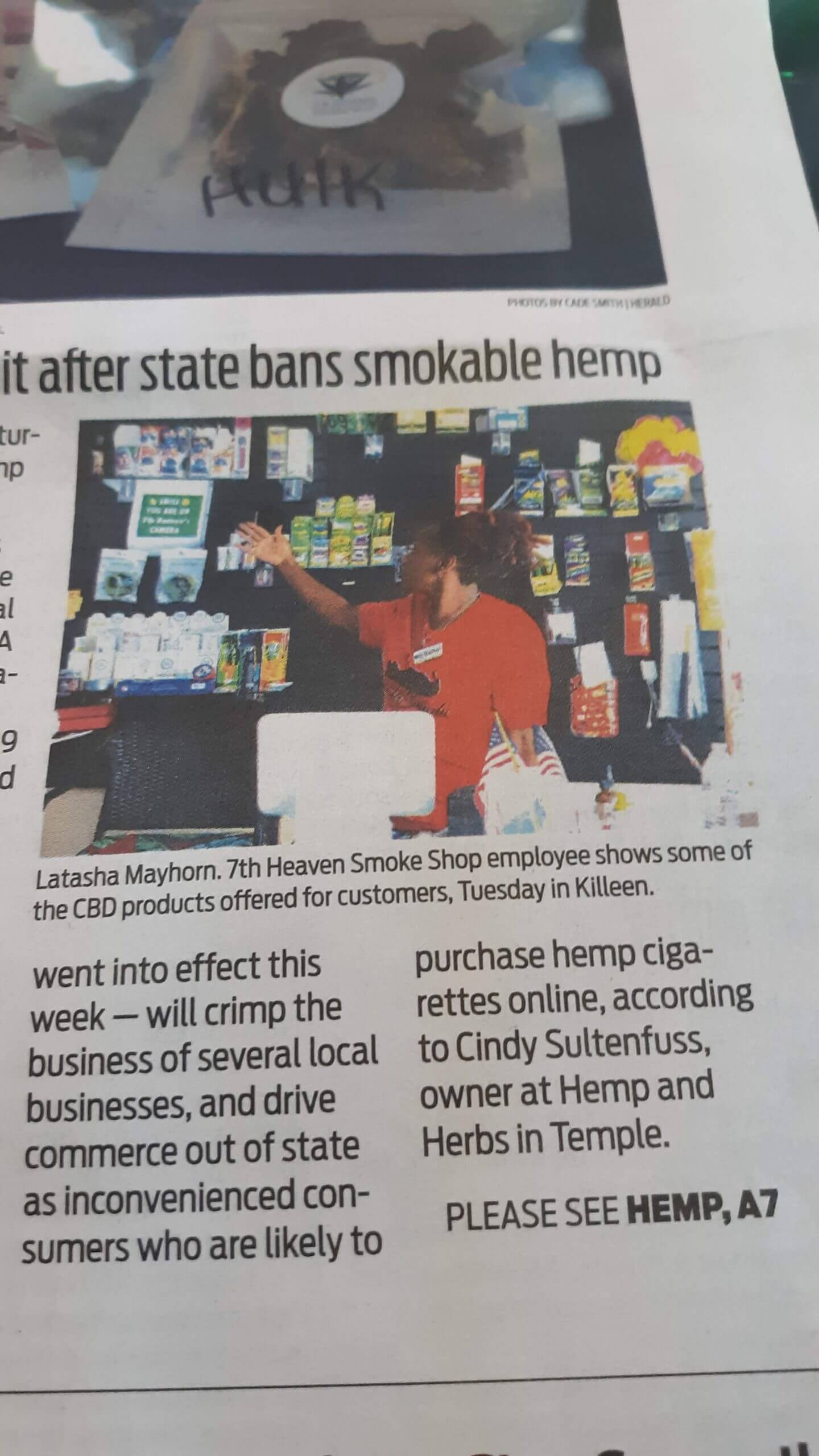 CBD Products, Herbs, bath Booms, Incense and edibles For Sales In Our Store In Killeen, TX (2)